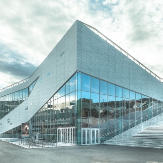 SAPA aluminium facades