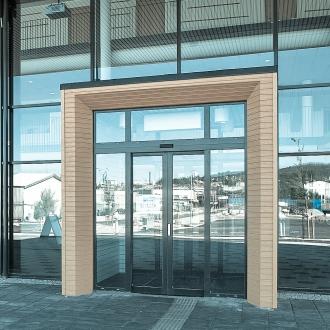 SAPA aluminium doors