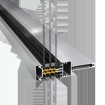 SAPA aluminium fasade 4150SX